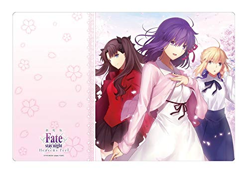 Fate/Stay Night: Heaven`s Feel Sakura Rin Altria Saber Card Game Character Rubber Play Mat Collection Vol.249 Anime Art