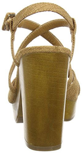 Belize Women's Rocket Brown Caa Dog Sandals Tan Wedge qwgR6w