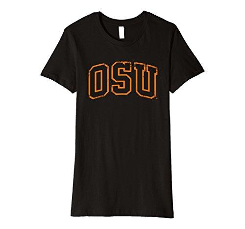 Womens Oklahoma State University Ncaa Womens T Shirt Osuc1001 Xl Black