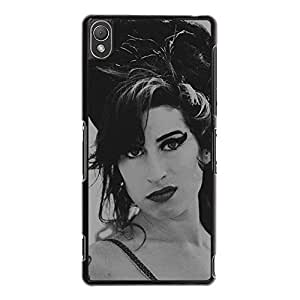 Sony Xperia Z3 Durable Amy Winehouse Phone Case Cover Amy Winehouse Charming