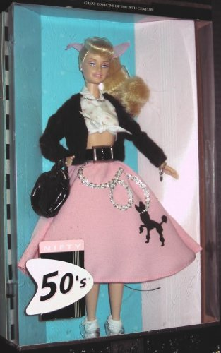 Great Fashions of the 20th Century Barbie - - 50s Toy