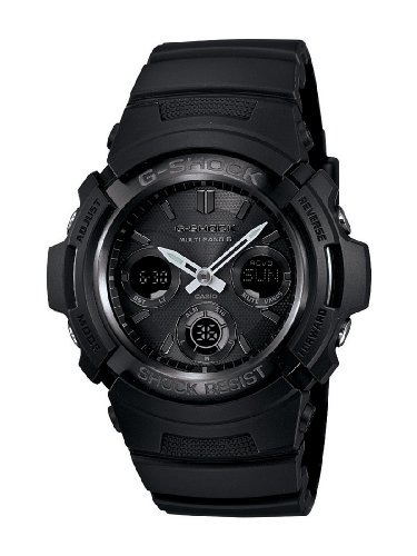 Casio Men's AWGM100B-1ACR G-Shock Solar Watch (Watch Atomic Steel Stainless)