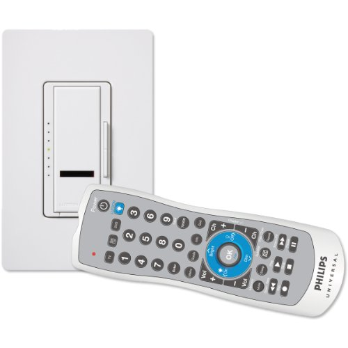Wholesale Tv Boxes Cable (Lutron MIR-600URHW-WH 600-Watt Maestro IR Dimmer with Universal Remote Control, White)