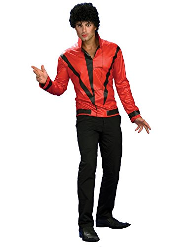 Michael Jackson Red Thriller Jacket, Adult Small ()