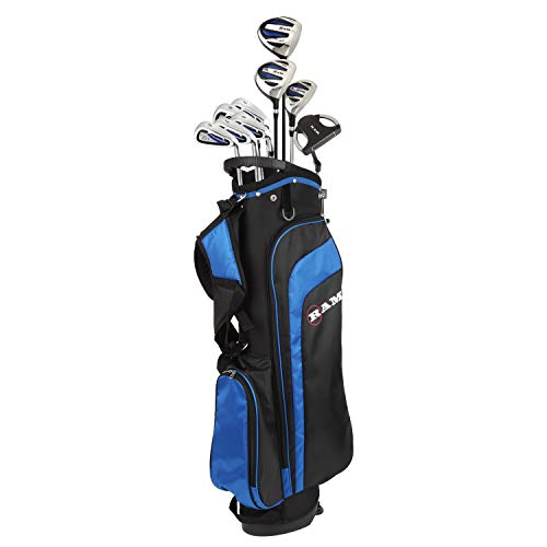 (RAM Golf EZ3 Mens Golf Clubs Set with Stand Bag - Graphite/Steel Shafts (Graphite/Steel +1