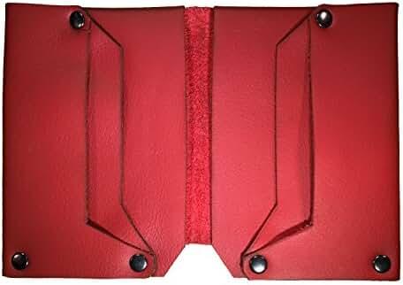 NIC GIOR Phantom Riveted Slim Italian Leather Wallet
