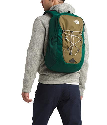 The North Face Jester Backpack, British Khaki/Night Green, One Size