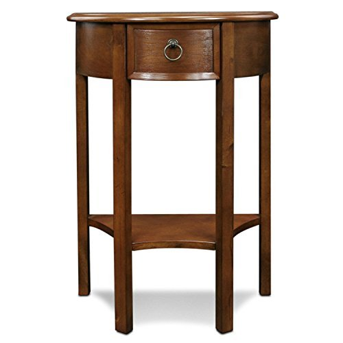 Leick Furniture Demilune Hall Stand – Pecan For Sale