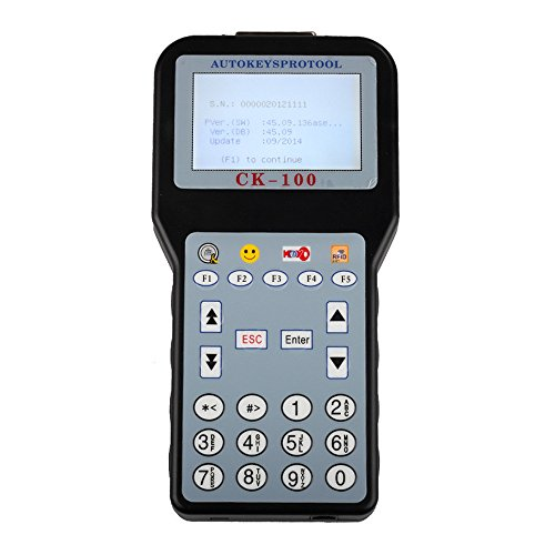 (Borison CK-100 Car Key Programmer with Latest Software V99.99 Support Toyota G Chip)