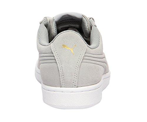 01 Bianco Grigio Ribbon 5 364262 Puma Vikky Sneakers 40 wOtqvIY