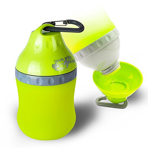 TIOVERY Dog Water Bottle, Pet Travel Water Bowl Outdoor ... - photo#39