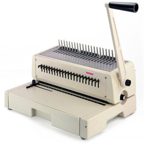 Tamerica 210PB 19-Ring Plastic Comb Binding Machine (aka Tahsin) from ABC Office by Tamerica