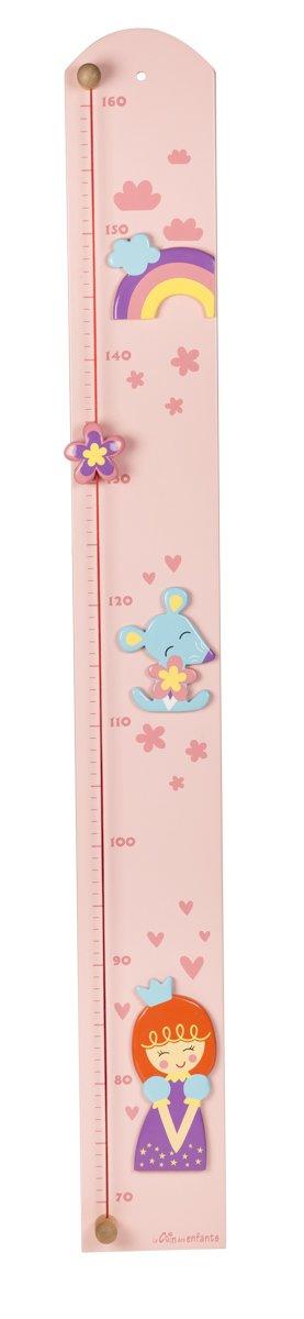 Unbekannt Le Coin des Enfants 30323 Prinzessin Diagramm Höhe Measurement-Made in Frankreich