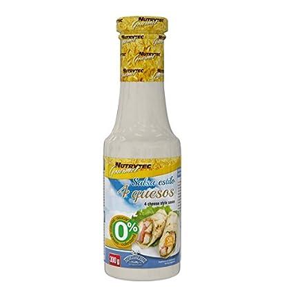 Nutrytec Platinum Series - salsa 0 calorías gourmet 300 ml - 4 Quesos: Amazon.es: Hogar
