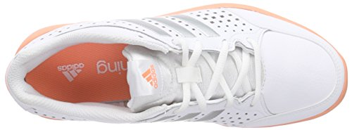adidas Arianna III, Women's Fitness Shoes White - Weiß (White/Silver Met./Sun Glow S16)