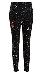 Featuers-Item made of 100% polyester,which have a soft,smooth texture,fit well and super comfortable.-Stylish leggings fit with durable poly/cotton/elastic fabric and bright neon clothes.-Perfect for 80's costumes, casual wear, yoga clothes, ...