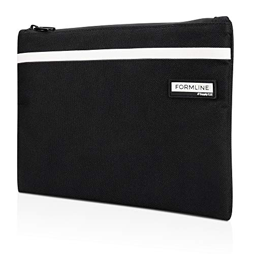 - Formline Elite Series (9x7 inch) Smell Proof Bag - Premium Odor Proof Pouch with Center Divider - Eliminate Scents w/this Discreet No Smell Container - Perfect for Travel