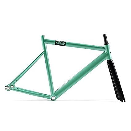 State Bicycle Black Label 6061 Aluminum Frame and Essor Carbon Fork Set