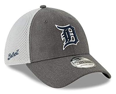 New Era Detroit Tigers MLB 39THIRTY Heather Front Neo Flex Fit Hat