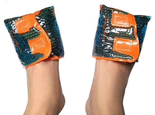 BodyMoves Exclusive Bunion and Toe Reusable hot and Cold Foot ice Pack-Great for Tailors Hammer Toe straightening and Pain Relief from Heels and All Day Wearing of ()