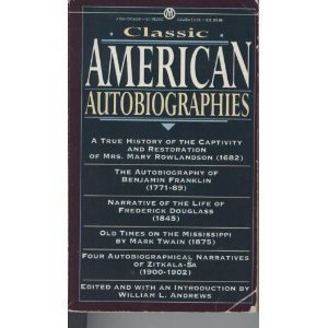 Classic American Autobiographies (Gertrude Bonnin/5 Autobiographies in)