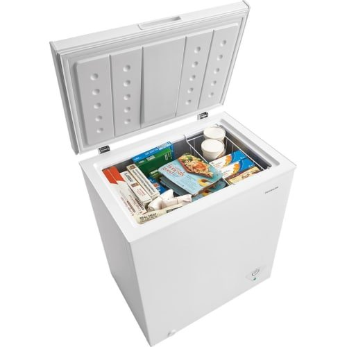 Frigidaire 5 Cu. Ft. White Chest Freezer