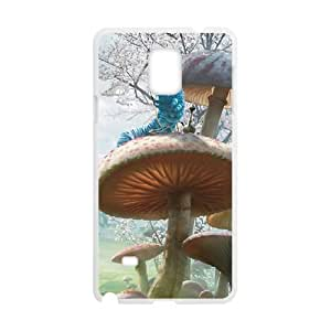 Alice in Wonderland Character Alice Samsung Galaxy Note 4 Cell Phone Case White Special gift AJ840171