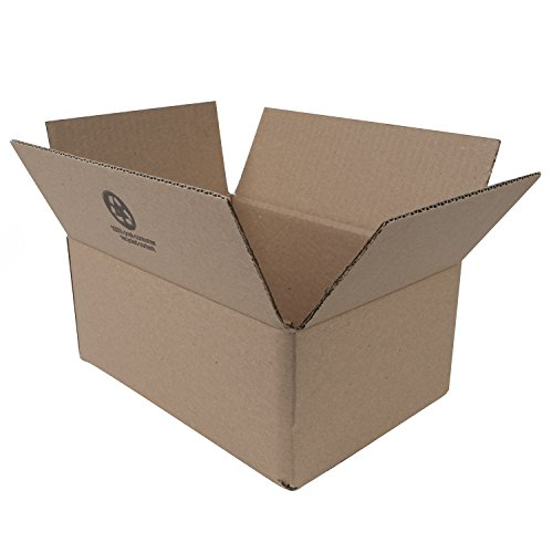 Duck Brand Kraft Corrugated Shipping Boxes, 11.75 x 8 x 4.75, Brown, 12-Pack (394526)