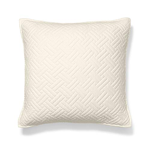 Boll & Branch Luxury Quilted Sham | Organic Cotton | Ivory