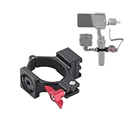 AFVO Ring Hot Shoe Adapter for DJI om 4 (Osmo Mobile 4), Osmo Mobile 3, Osmo Mobile 2 and Osmo Mobile 1, Adapter for…