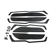Car door anti-kick carbon fiber Style stickers Decal For Ford F150 F-150 2015-2017