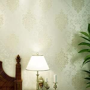 DUOCK Papeles pintados de estilo europeo clásico