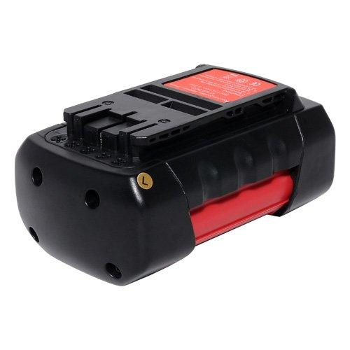 HeShunChang Rechargeable Battery 36.00V 4000mAh Replacement Power Tools/Cordless Drill Bosch 36V Battery for Rotak 34 LI Rotak 37 LI Rotak 43 LI Lawn Mowers AKE 30 LI Chainsaw