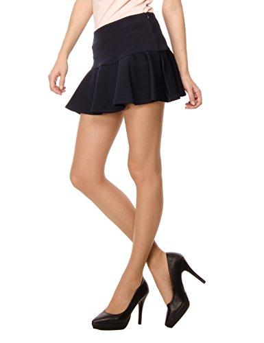 navy Les Pieghe Blu Donna Con Minigonna Sophistiquees OOx8wY