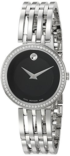 Movado-Womens-Swiss-Quartz-Stainless-Steel-Casual-Watch-ColorSilver-Toned-Model-0607052