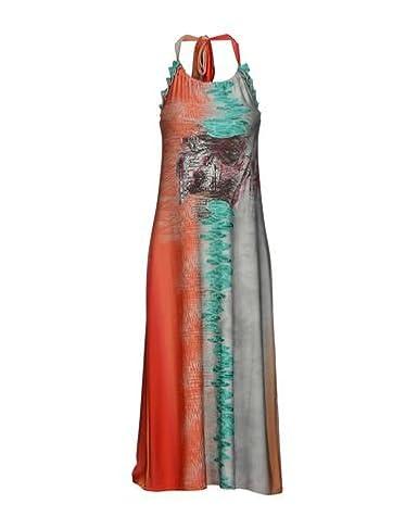 abb407dca5ced5 SAVE THE QUEEN Langes Kleid Damen: Amazon.de: Bekleidung