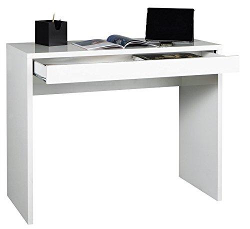 AVANTI TRENDSTORE - Scrivania con 1 cassetto in colore bianco d ...