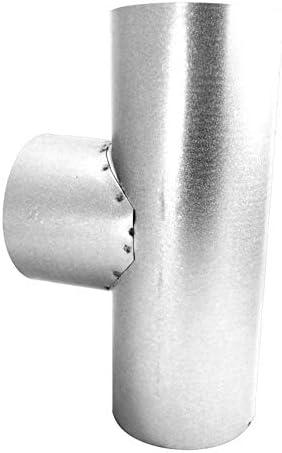 FAL 90/° Bogen gerippt 110mm Durchmesser Ofenrohr Rauchrohr feueraluminiert Silber
