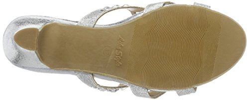Like Style Women's Chelsea Style Clogs Silber d0b7m9Xv
