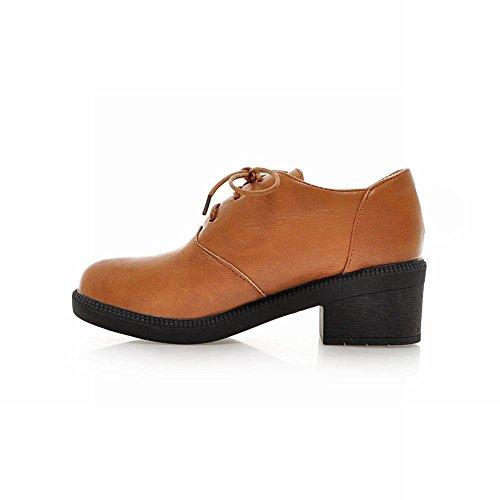 Zapatos Con Y Show Medio Mujer Para Shine Brillante Tacón yvnNwm8O0P
