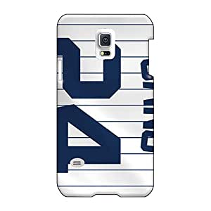 Scratch Resistant Hard Phone Case For Samsung Galaxy S5 Mini With Custom Fashion New York Yankees Pattern RobAmarook
