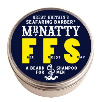 Raspberry Scented Shampoo - Mr Natty's Forest Face Beard Shampoo