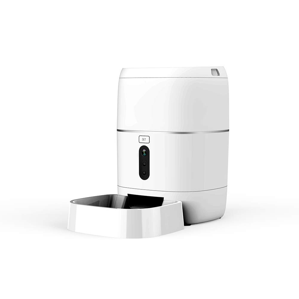 Automatic Pet Feeder Food Dispenser Cats & Small Animals for Medium and Large Cats and Dogs
