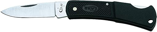 W R Case Sons Cutlery 00156 Caliber Lockback Pocket Knife, Stainless Steel Black Zytel, 3-In. Length Clos – Quantity 1