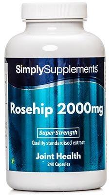 Rosa Mosqueta 2000mg - 240 cápsulas - Hasta 8 meses de suministro - Para el mantenimiento
