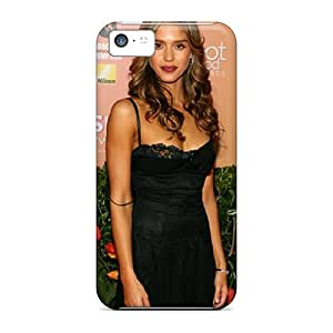 Hot Design Premium JDTkgcq5843wNRWY Tpu Case Cover Iphone 5c Protection Case(jessica Alba)