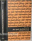 American Decorative Arts and Old World Influences : A Guide to Information Sources, David M Sokol, 0810314657