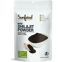 Sunfood Shilajit Powder, 3.5oz, Raw, High Altitude Himalayan