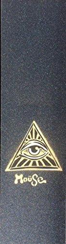 Eye See moüseスケートボードグリップテープシートブラック9
