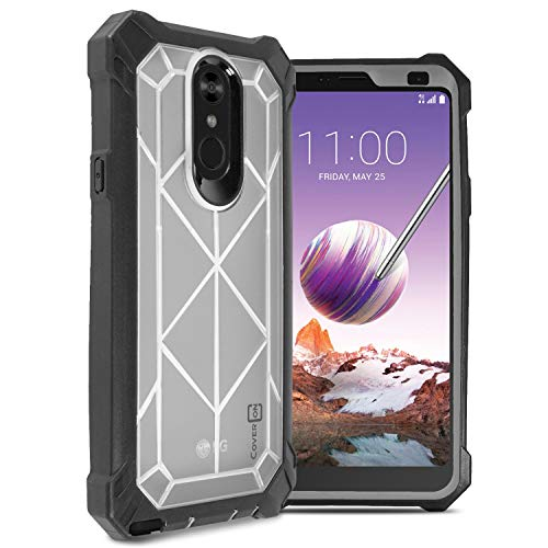 - CoverON [VitaCase Series] LG Stylo 4 Plus Case, LG Stylo 4 Case, LG Q Stylus Case, Tough Protective Heavy Duty Phone Case with Face Cover for LG Stylo 4 / Q Stylus/Stylo 4 Plus - Clear